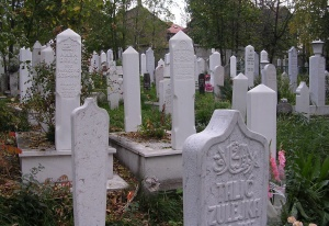 Victims of the Sarajevo siege - a daily reminder of conflict during my years of work in Bosnia
